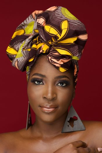African Print Ankara Head Wrap KASI by Naborhi