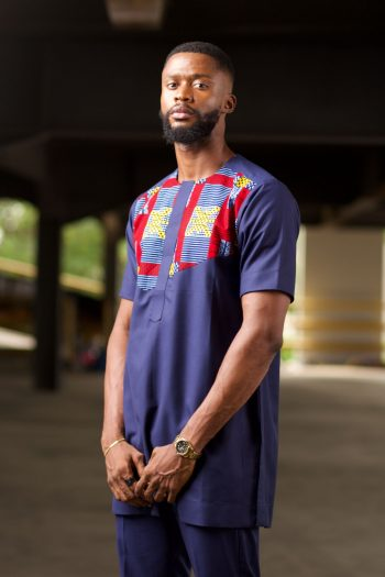 African Print Ankara Shirt for Men - NAADE by Naborhi