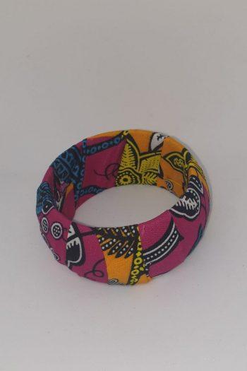 Tahira Ankara Bracelet Pink