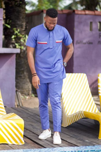 African Mens Clothing Online - Bode African Suit by Naborhi