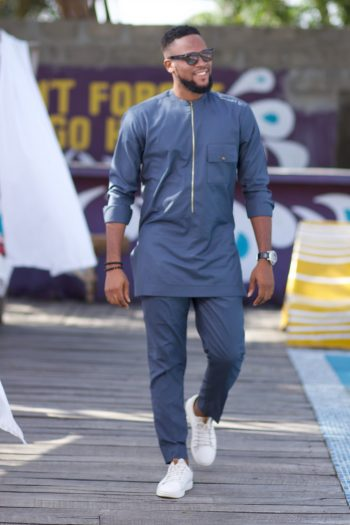 African Outfits for Men - Ayo African Suit by Naborhi
