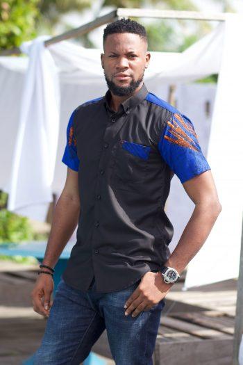 African Print Ankara Shirt for Men - Danai by Naborhi