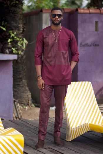 Akin African Suit by Naborhi