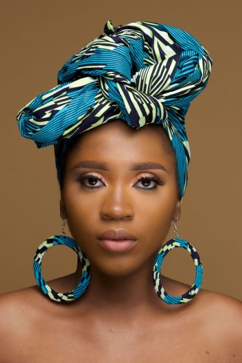 African Print Head Wrap Abeni - African Fashion for Wome - Naborhi