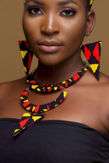 Mezia African Print Jewellery Set_Mezia_Naborhi