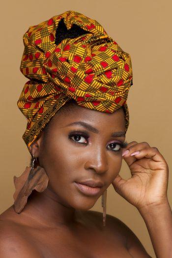 African Print Ankara Head Wrap Ayanda by Naborhi